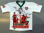 KINDER TRIKOT *SHIRT* PORTUGAL *RONALDO* WEISS